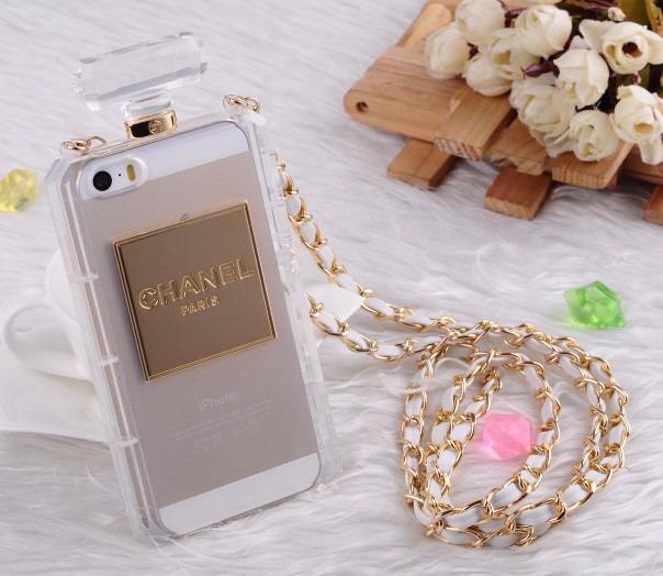 new arrival b65e8 1327d Capinha Capa Case Chanel Paris Luxo Perfume iPhone 5 5s 5c