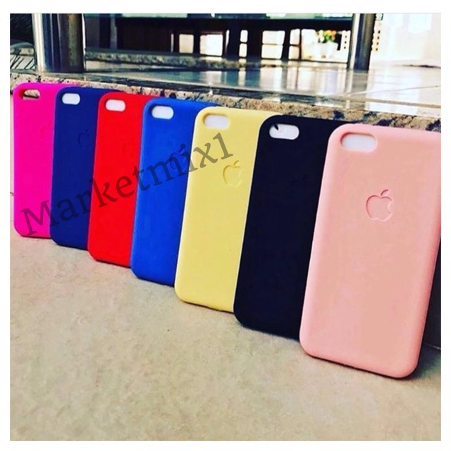 Capinha Capa Case Silicone Iphone 5 Se 6 6s 7 8 X Plus Color - R  29 ... 8da1a85c09