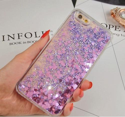 c30c108410f Capinha Capa Case Tpu Mini Coração Estrelas Para iPhone 6 6s - R$ 47 ...