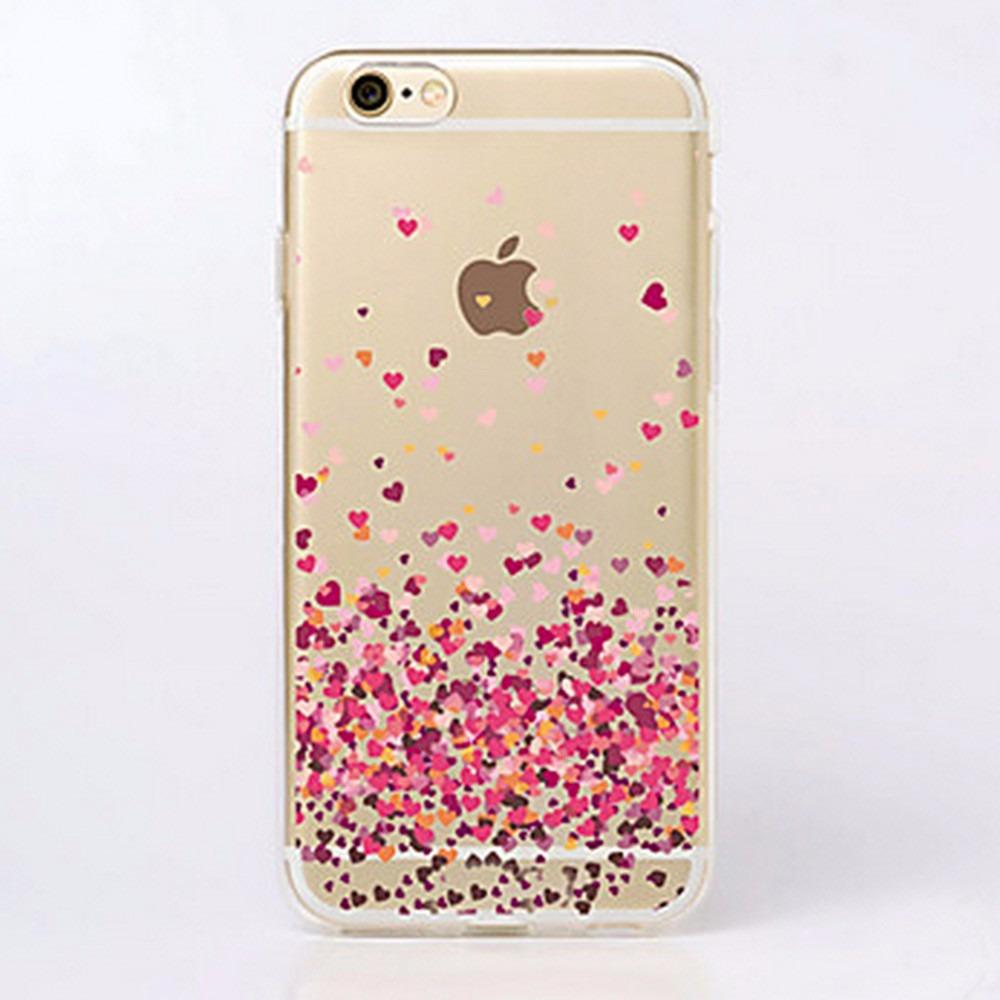 Capinha Capa Case Tpu Mini Coracao Para Apple Iphone 4 4s