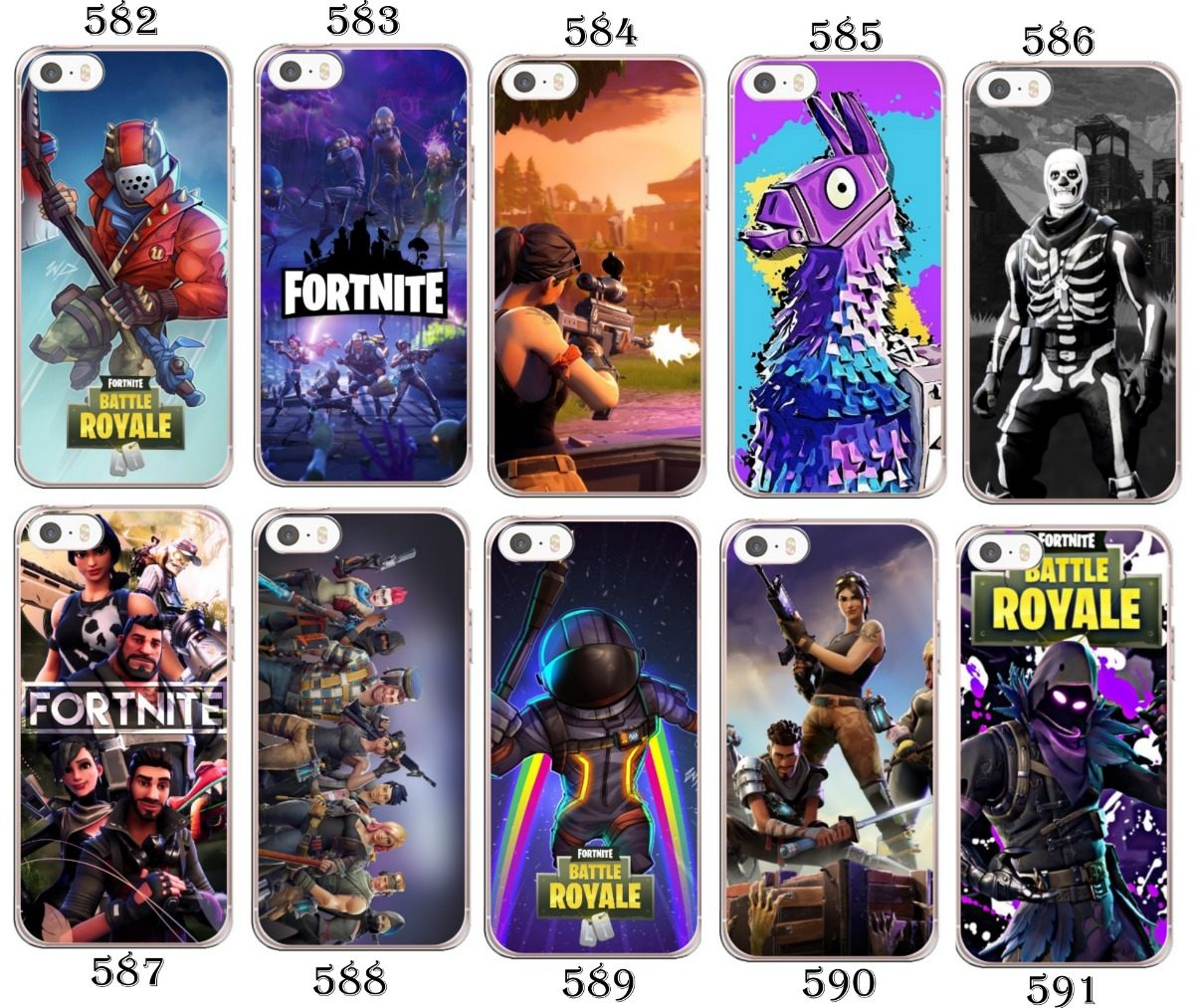 new styles 9ab6f b4a41 Capinha Capa Fortnite Battle Royale - Iphone 4 5 5s 5c