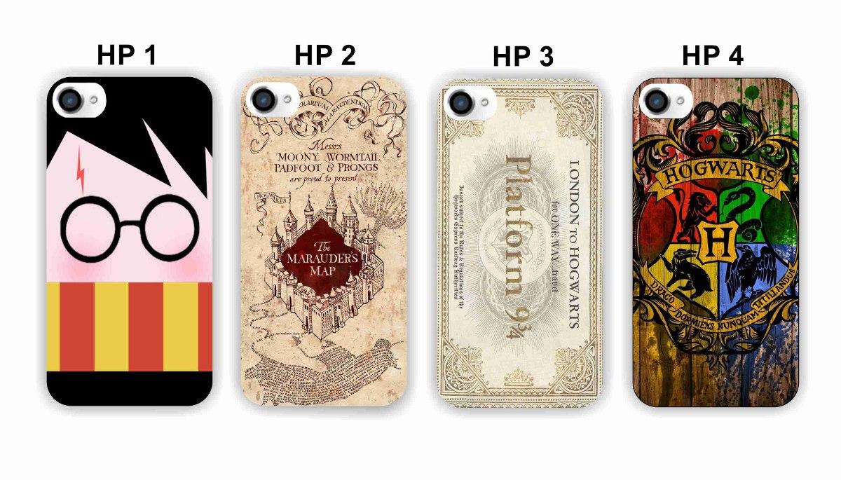 buy popular 9d407 9d6cb Capinha Capa Harry Potter iPhone 4s 5s 5c 6 Se- Frete Gratis