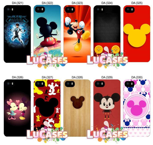 capinha capa mickey minnie iphone 4/4s/5/5s/6/6 plus 7 8 x