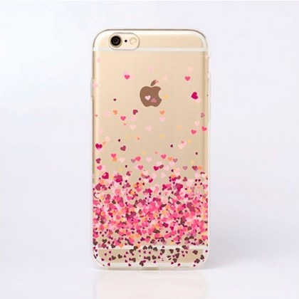 capinha case capa iphone 4 5 5s se 6 6s 7 8 7 plus coracoes