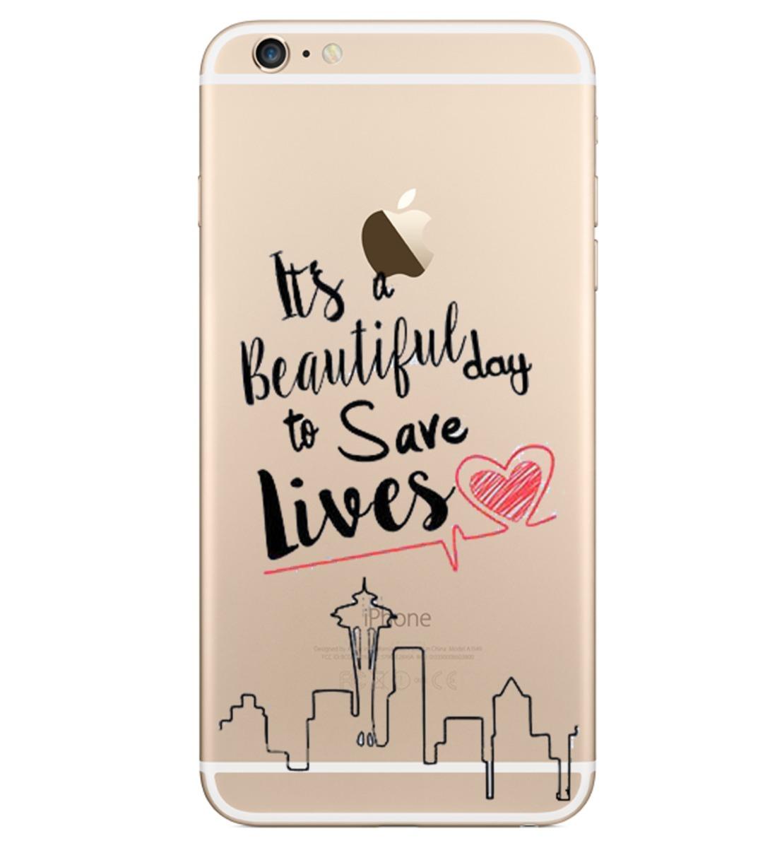 Capinha Case Capa Iphone Greys Anatomy Save Lives - R$ 19,90 em ...