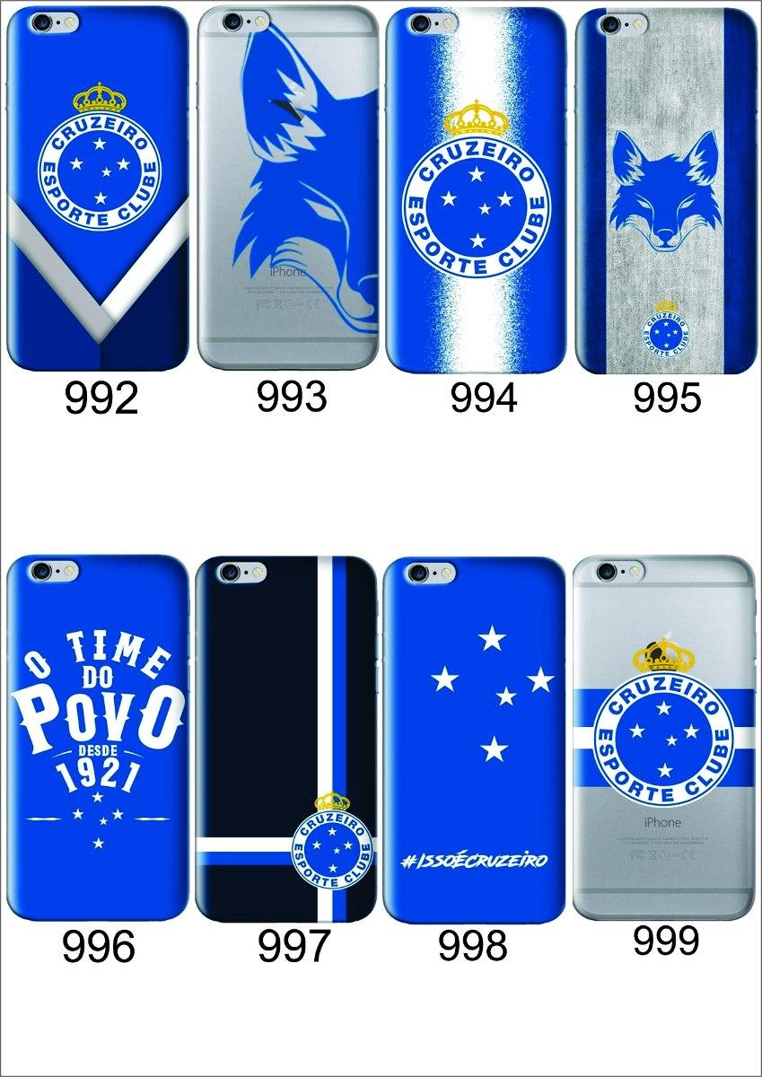 3568d9a9a7500 Capinha Case Capa Para Celular Oficiais Do Cruzeiro - R  49