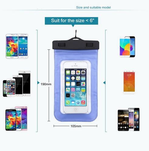 capinha case capa prova d'água - lg x screen 4.9 polegadas