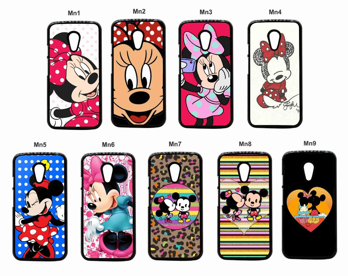 Capinha Case Celular Mickey Minnie Iphone 4/4s 5/5s 5c 6 ...