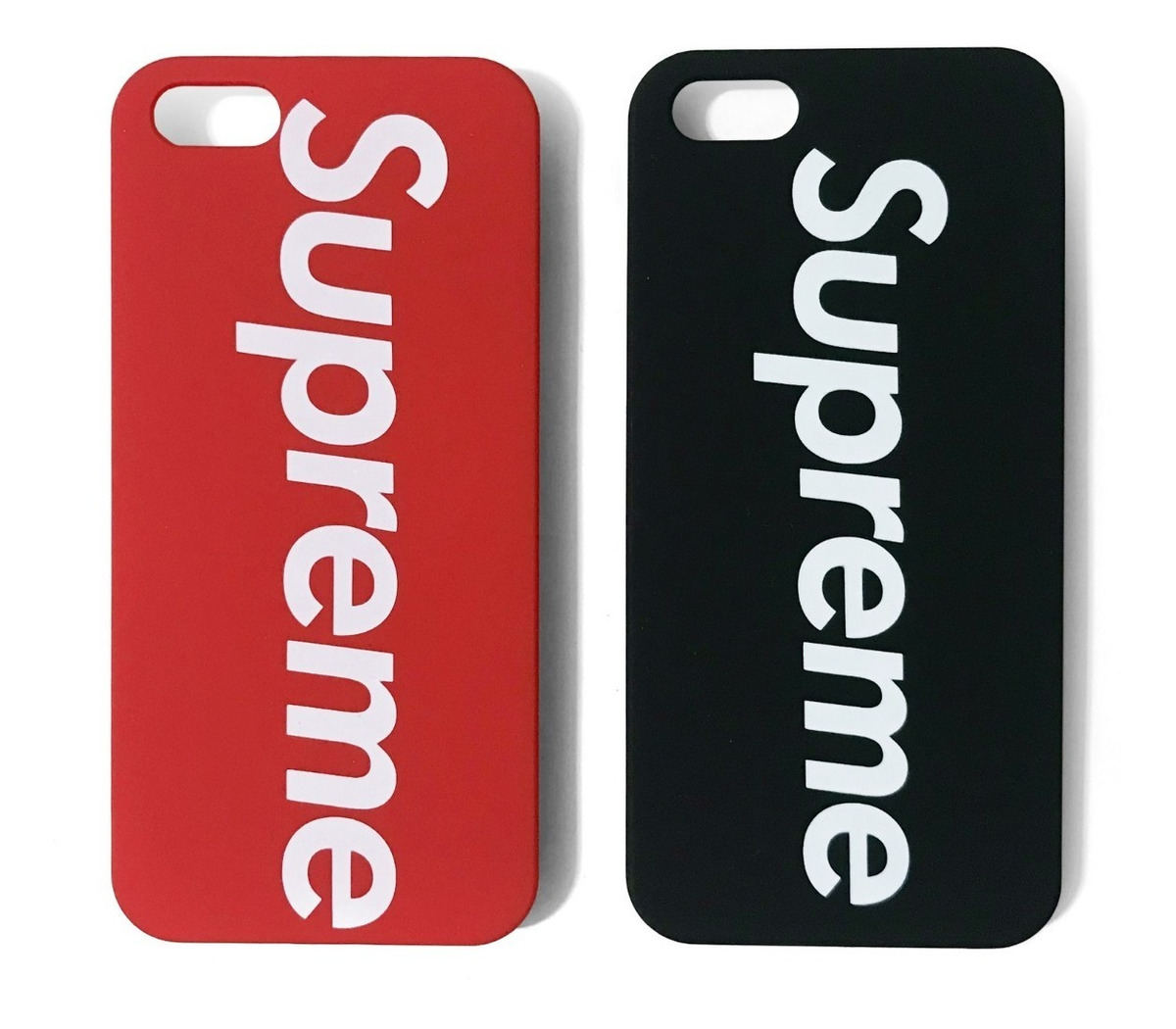 huge selection of b400d f1e5c Capinha Case Supreme iPhone 4 5 5s E Se Fosca Pronta Entrega