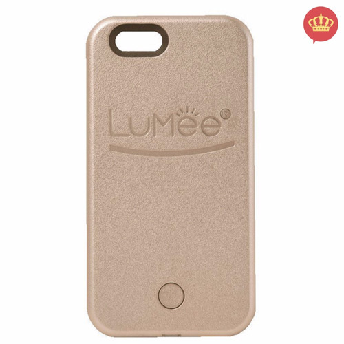 capinha cel case lumee luminosa p/ selfie iphone 6s plus