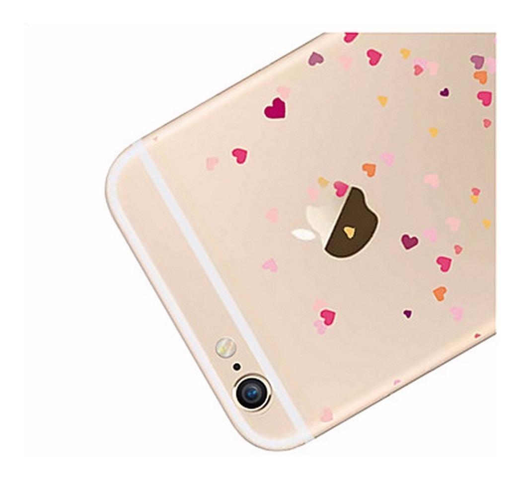 a4078e394bd Capinha Corações Tpu Flexível Para Celular iPhone 5s, 5c - R$ 49,90 ...