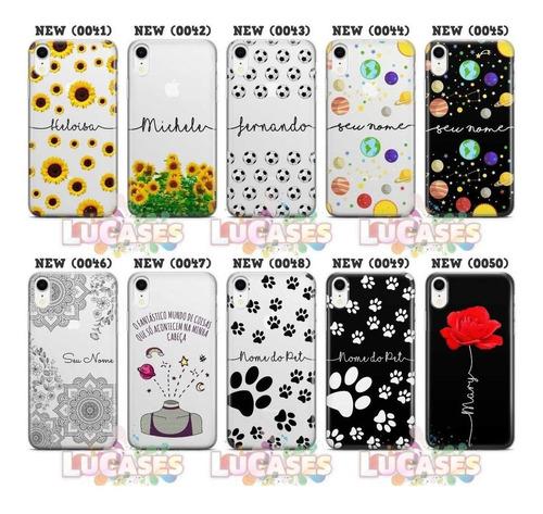 capinha de celular flores rosas para diversos modelos