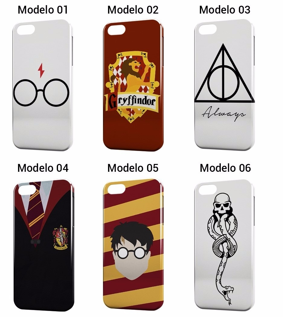 Capinha Harry Potter Hp Capa Iphone 4 4s 5 5s Se 6 6s 7