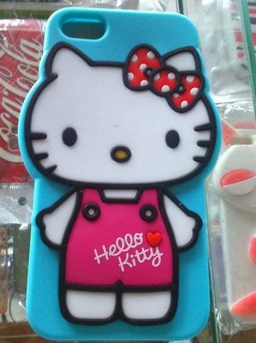capinha hello kitty azul para iphone 5