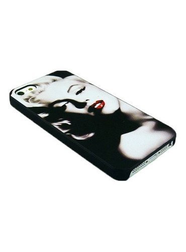 capinha iphone 5/5s marylin monroe black