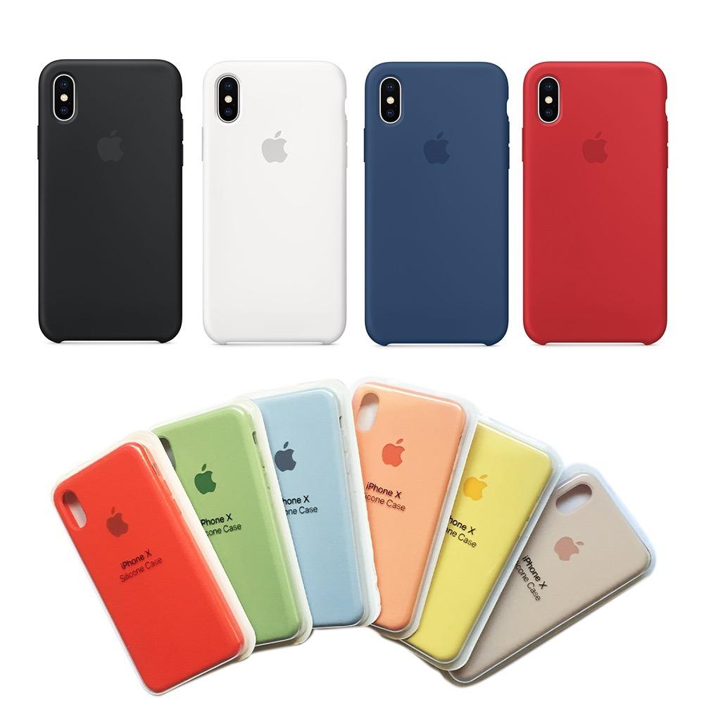 Capinha Iphone X Logotipo Apple Silicone Case - Oferta - R  42,00 em ... b95e602e09