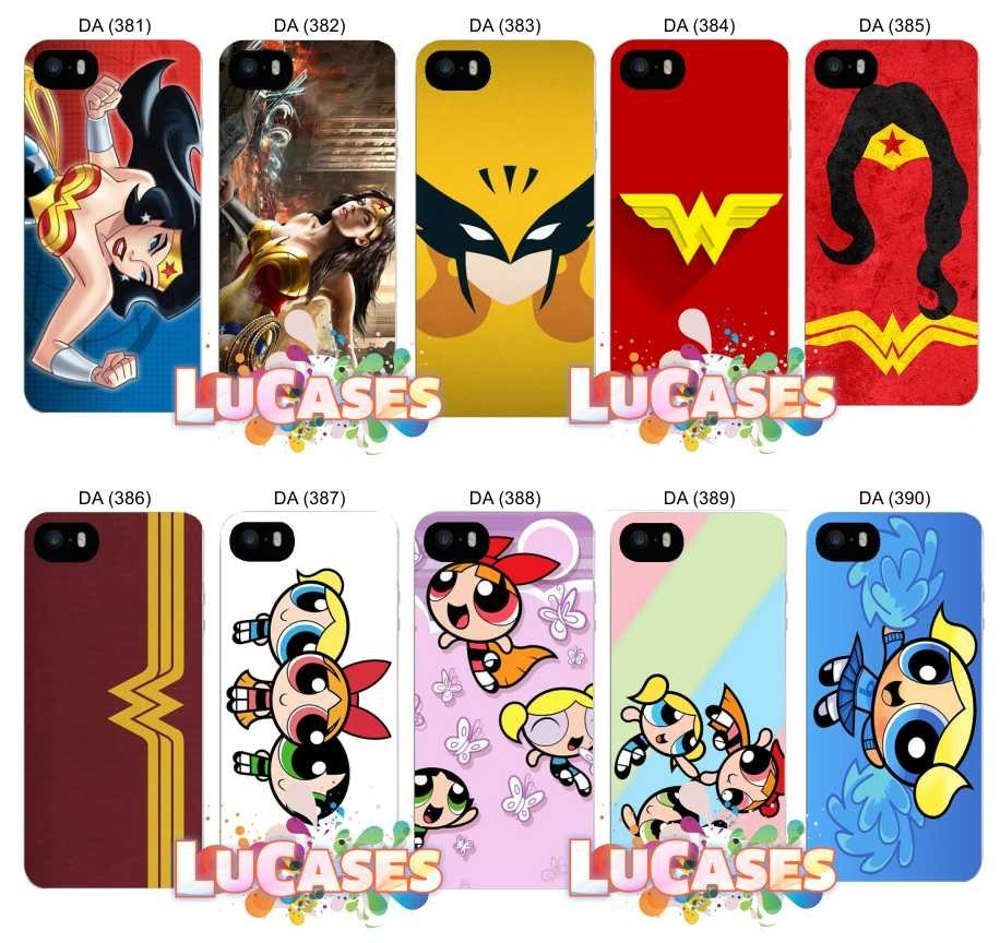 3f21f6059 Capinha Mulher Maravilha Capa Iphone 4 4s 5 5s 6 6 Plus 7 8 - R  34 ...