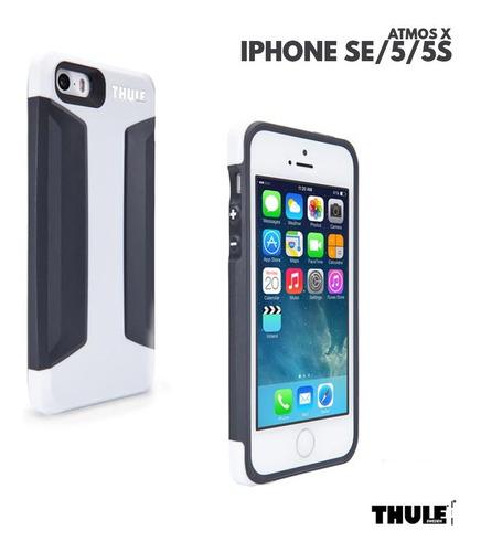 capinha para iphone se 5 5satmos x3 thule branco e preto