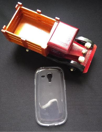 capinha tpu transparente galaxy s3 mini i8190 pronta entrega