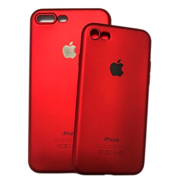 Capinha Vermelha Slim Red Product Iphone X 6 6s 7 7