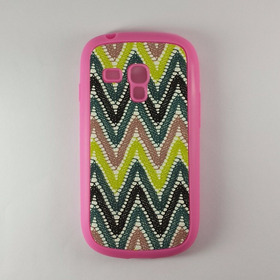 Capinha Wave  Galaxy S3 Mini I8190 Pink