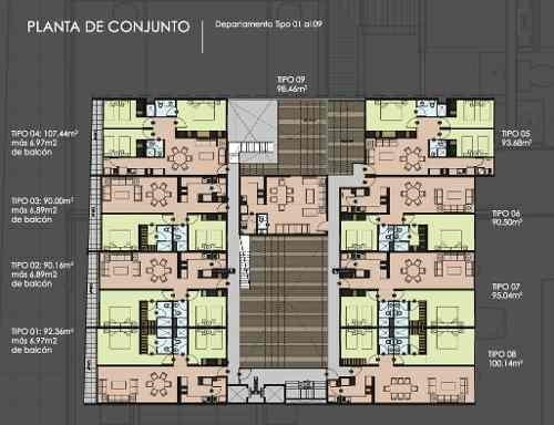 capital condesa, nuevo y hermoso edificio con diseño de vanguardia.