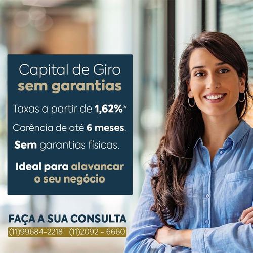 capital de giro pra pessoa jurídica aprovação imediata