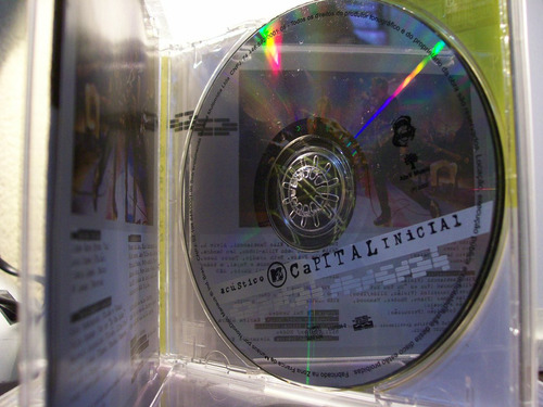 capital inicial , acústico mtv, cd original raro