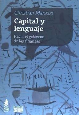 capital y lenguaje(libro )