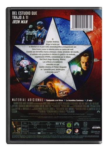 capitan america el primer vengador chris evans pelicula dvd