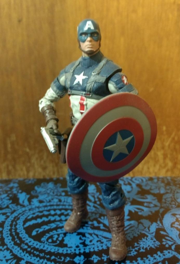 Capitán América El Primer Vengador Marvel Legends - $ 299 00