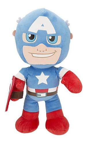capitan america iron man marvel avenger peluche 50cm bigshop
