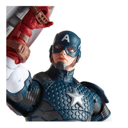 capitán américa marvel legends fig 28cm coleccionable