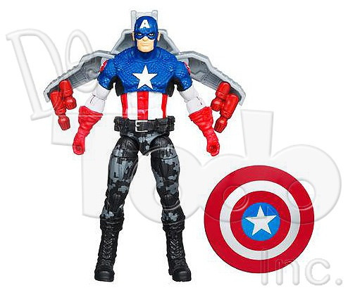 capitan america - night mission - the first avenger - marvel