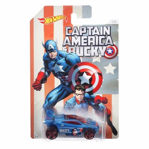 capitan america spectyte bucky coleccion hot wheels a3