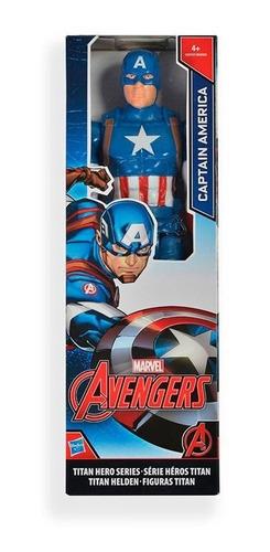 capitán américa titan hero avengers marvel ref: b1669 hasbro