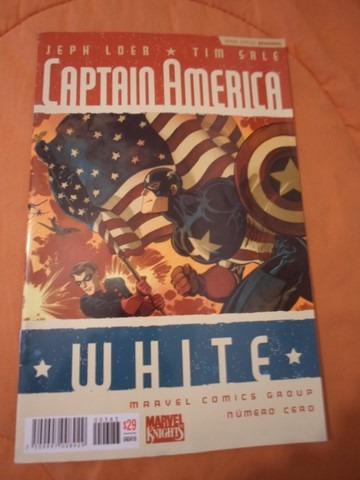 capitan america white comics marvel now 70000 completa