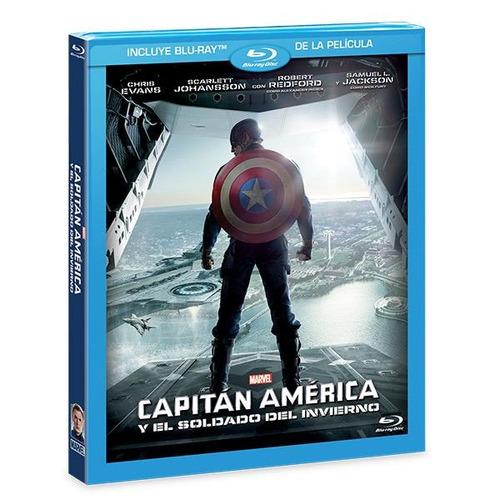 capitán américa y el soldado del invierno - blu-ray
