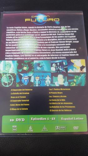 capitan futuro dvd completa