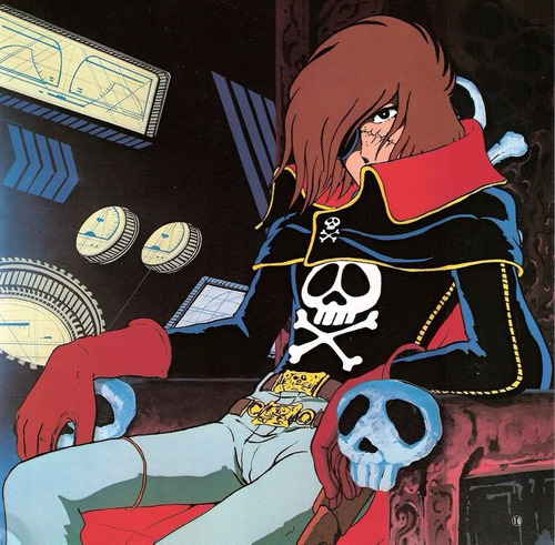 capitan harlock / series de anime