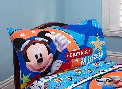 Capitn Mickey 2 Piezas Juego De Sbanas Para Nios Pequeo