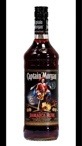 capitán morgan black 1lt