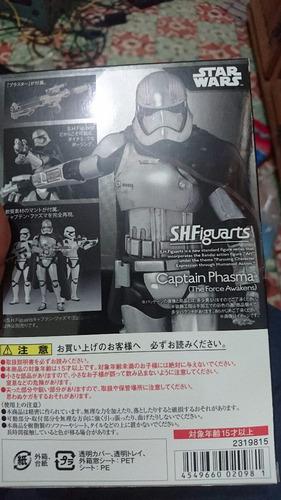 capitán phasma star wars force awakens japones bandai