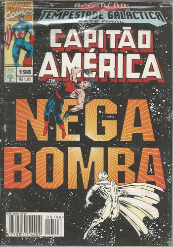 capitao america 198 - abril - bonellihq cx36 d19