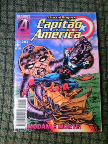 capitao america n. 201 - editora abril (formatinho)
