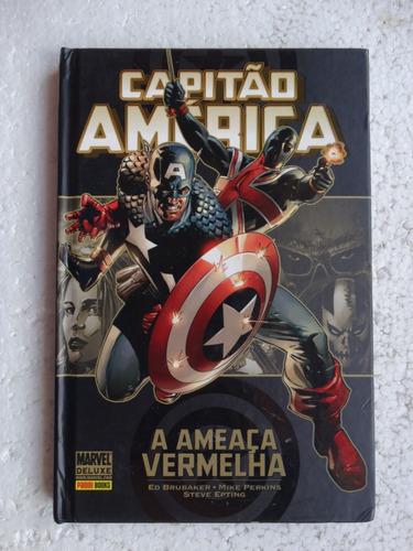 capitão américa: a ameaça vermelha! panini de luxe 2011!
