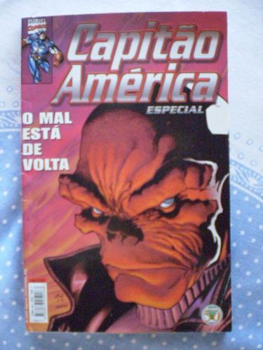 capitão américa especial! o mal está de volta! e abril 2000!