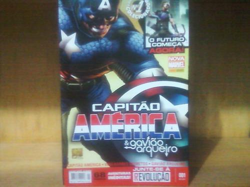 capitão américa & gavião arqueiro 1