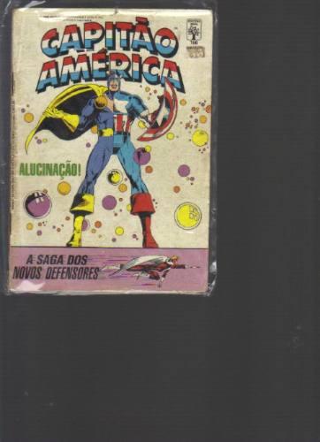 capitão américa n 106 - marvel comics - editora abril