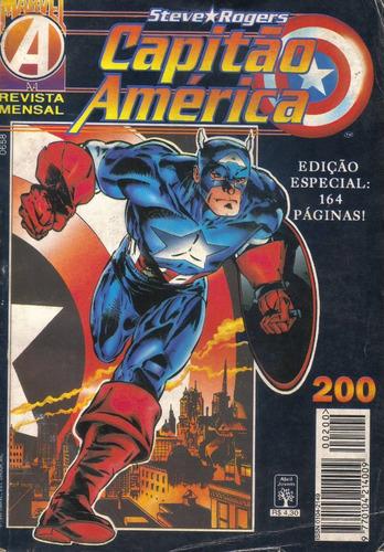 capitão américa nº 200 - ed. especial 164 pgs